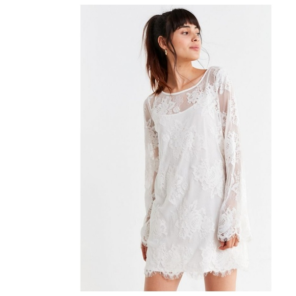 Urban Outfitters Dresses & Skirts - sale! NWT Urban Outfitters Lace Bell Sleeve Dress